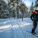 Cross country skiing Stockholm