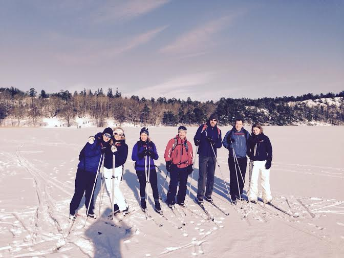 ecotourism cross country skiing tour stockholm
