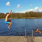 swim after trip