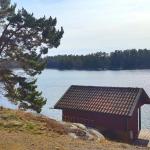 seaside cabin stockholm