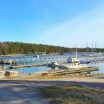 harbor in the stockholm archipelago