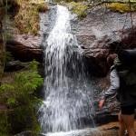 waterfall sweden
