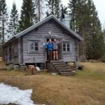 cabin höga kusten sweden