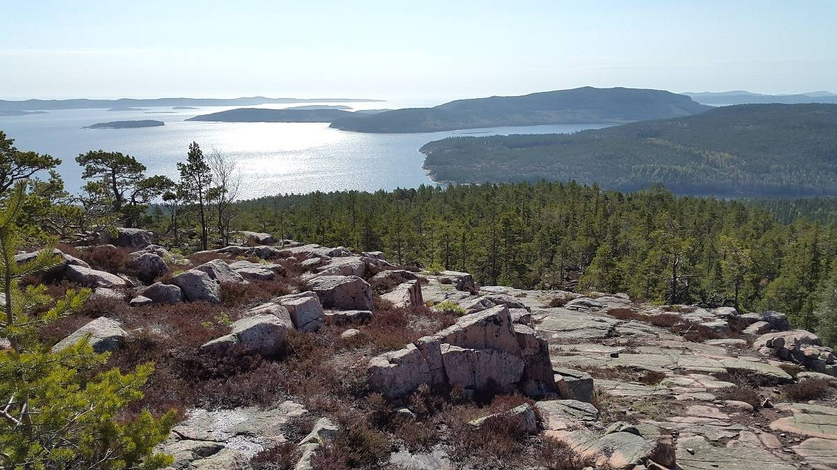hiking in sweden