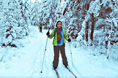 Cross Country Skiing, 1d